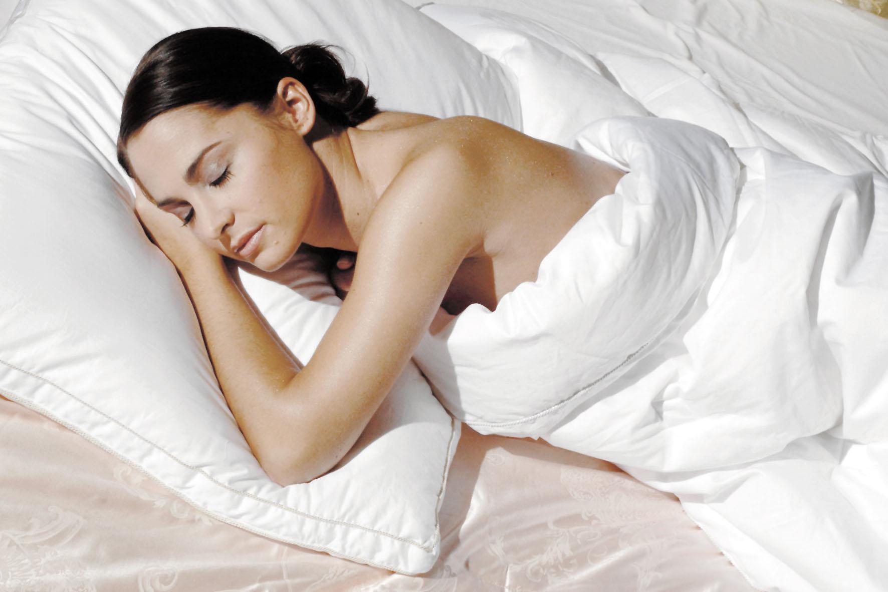 Glücklich und zufrieden schlafen? Im Heute gar nicht mal mehr so verbreitet...