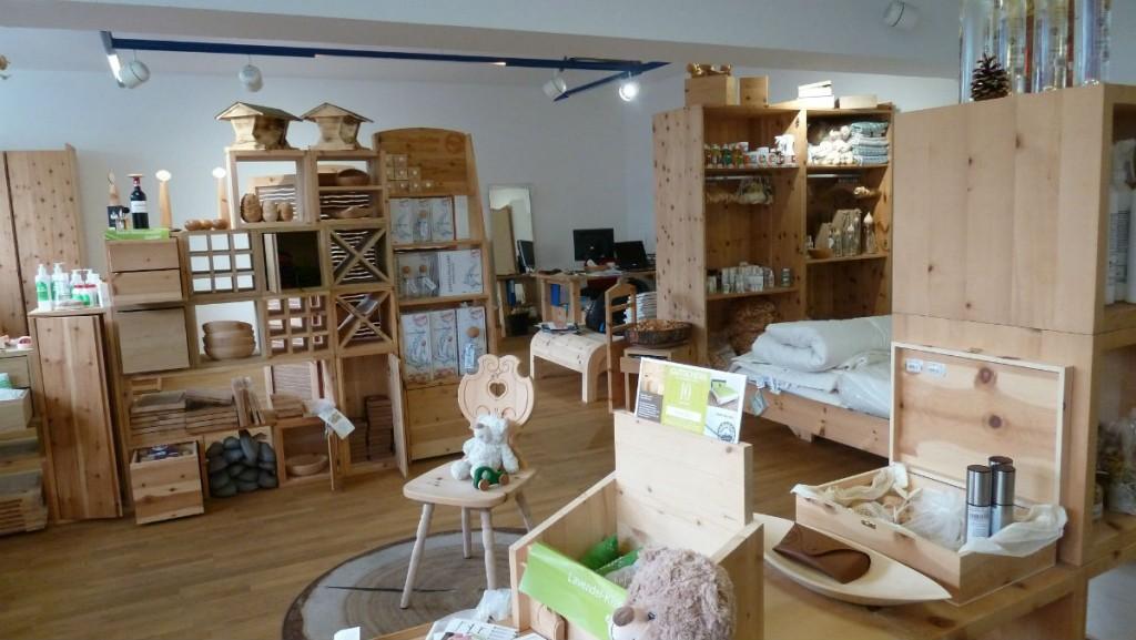 Das 4betterdays Shop in Innsbruck bietet eine große Produktpalette an