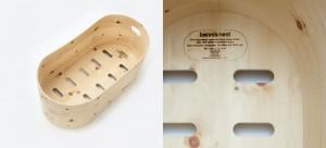 Das Nest: Edel im Design... und es ist aus Zirbenholz!