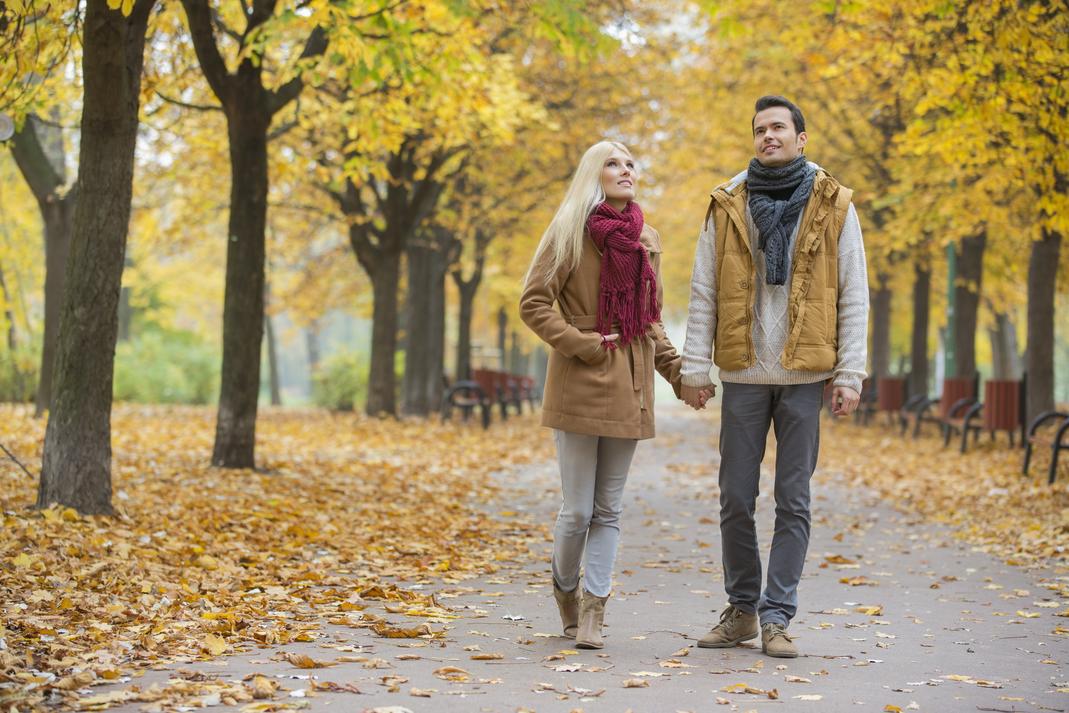 Ein Spaziergang im Herbst ist Balsam für die Seele