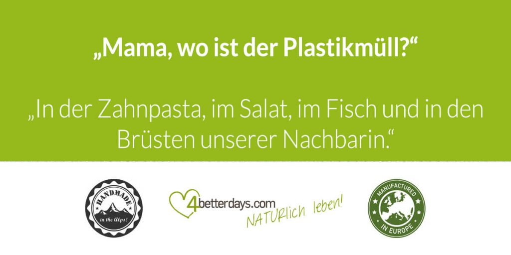Kann man Plastikmüll vermeiden?