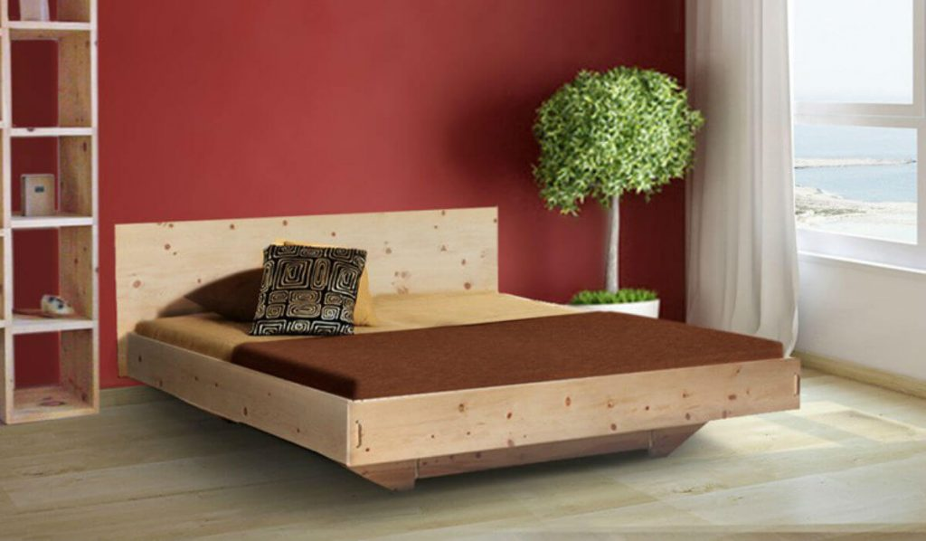 Best sex: This 4betterdays bed made of swiss pine has been lacking in your life.