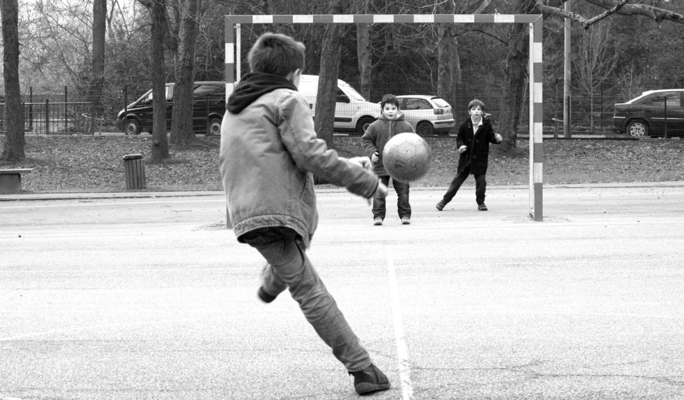 Immer weniger Kinder spielen im Freien