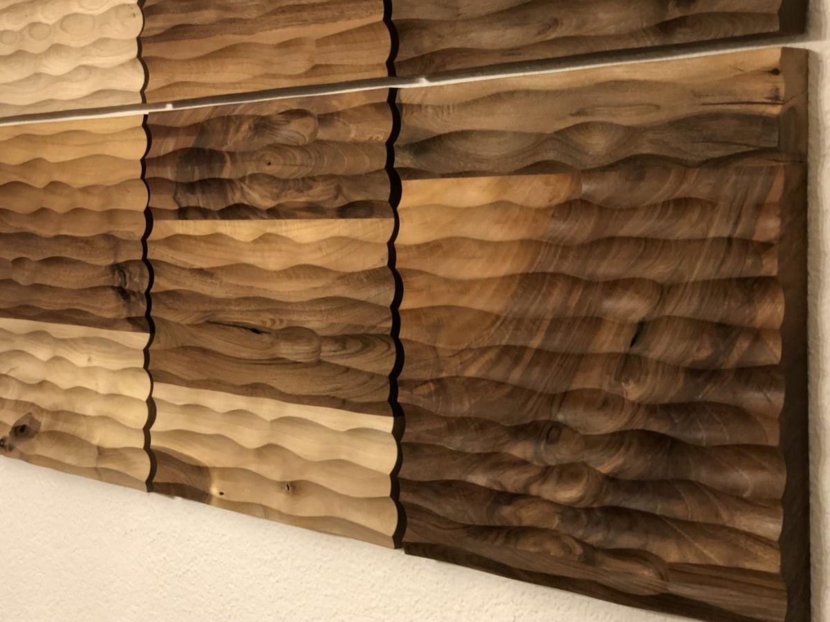sch ner wohnen leicht gemacht mit einer wandverkleidung aus holz 4betterdays. Black Bedroom Furniture Sets. Home Design Ideas