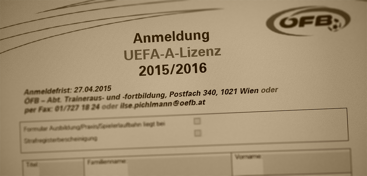 Mysterium - Eigenkönnen - UEFA-A Lizenz