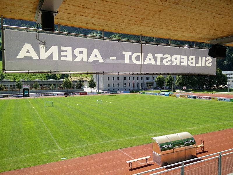 Perfekte Bedingungen am Schwazer Sportplatz.