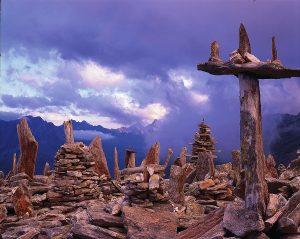 Die Armee der Steinmänner am Petersköpfl machen diesen Berg zu einem besonderen Platz. Mein Lieblingsort zum Kraft tanken im Urlaub.