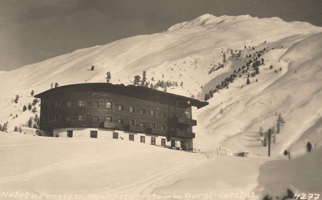 Die Zeiten haben sich geändert: Das Hochfirst im Jahre 1934!