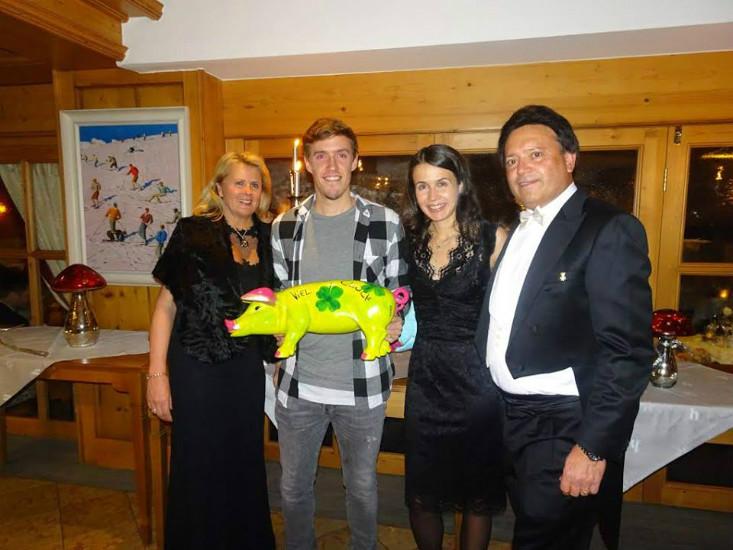 Fußballer Max Kruse feierte Silvester im Hotel Hochfirst
