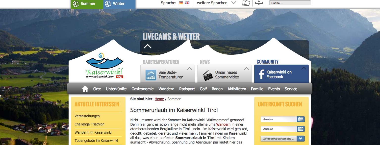 Www.Kaiserwinkl.Com