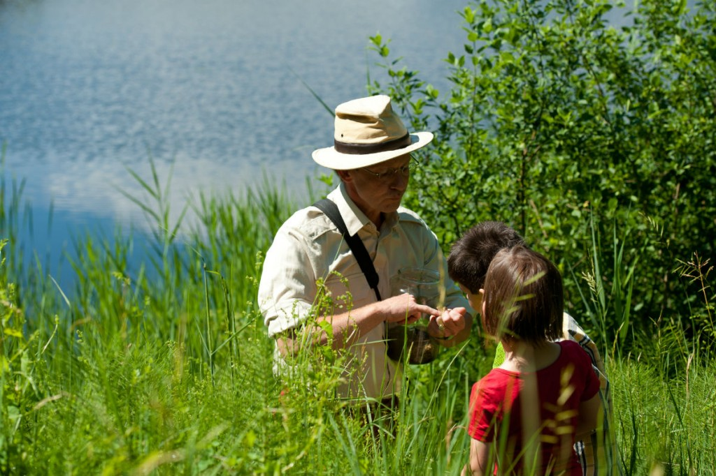 Der Klopeiner See ist der größte natürliche See des Bezirkes.