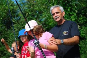 Fischen in Familie: in Südkärnten kann man das so richtig zelebrieren