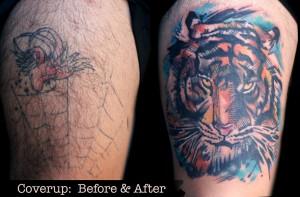 Manche Tattoo-Sünden lassen sich mit ein bisschen Tinte beheben