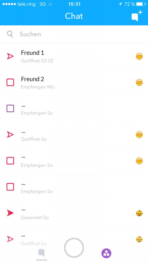 Snapchat für Anfänger: was, wie, warum?