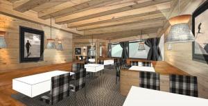 Noch im Entwuf: das neue Restaurant-Design