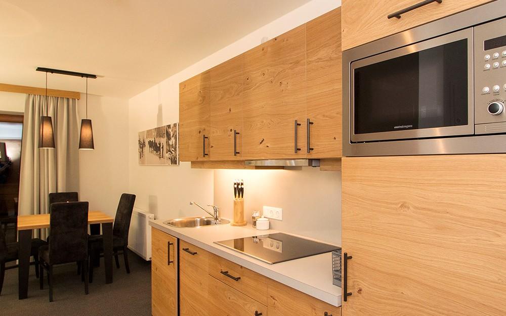 Ich buchte ein Apartment mit voll ausgestatteter Küche