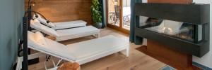 Heimisches Holz und wertvolle Naturmaterialien werden im Apartmenthaus verwendet