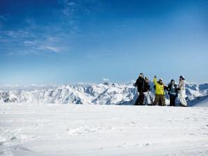 Beste Pistenverhältnisse, traumhafter Ausblick: Sölden ist ein Paradies für Skifahrer