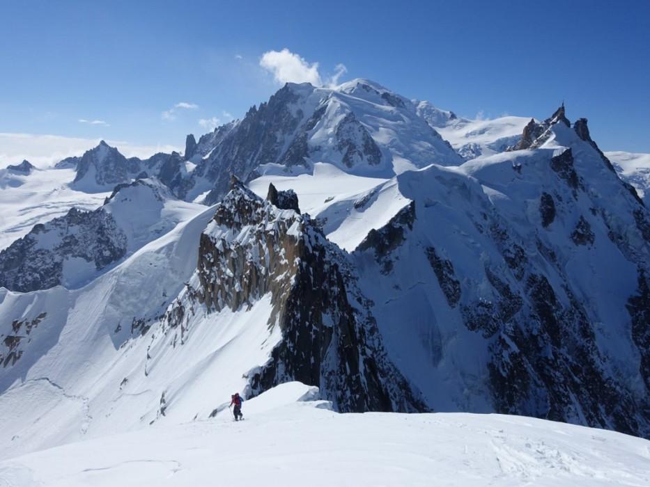 Herrliches Panorama beim Aufstieg.