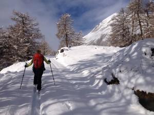 Der Winterwanderweg in Prägraten, Berger Eck & Bodenalm.