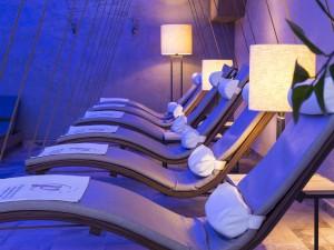 Im neuen Wellnessbereich gibt es ausgewiesene Ruhe- und Entspannungsgelegenheiten