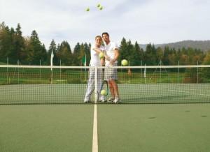 Ja, auch Tennis macht glücklich!
