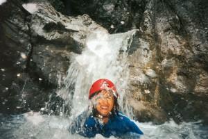 Das pure Naturerlebniss für die Abenteurer in Kössen. (c) Bild: Adventure Club Kössen