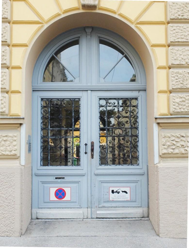 Salzburgs Wolf Dietrich Straße macht Blau