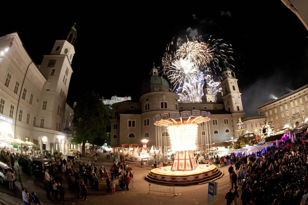 Feuerwerk Rupertikirtag Salzburg