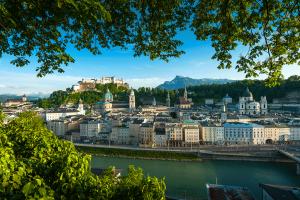 Stadtansicht Salzburg