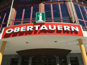So, I was in Obertauern. As a tourist you always need this place!