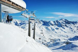 The height above sea level is an important factor for this natural snow