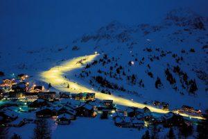 Skiing at night- wow, amazing and stunning.