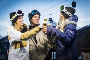 Nach dem Skifahren ist vor dem Aprés Ski