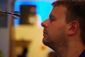Darts erfordert volle Konzentration. alle Bilder (C) Florian Warum