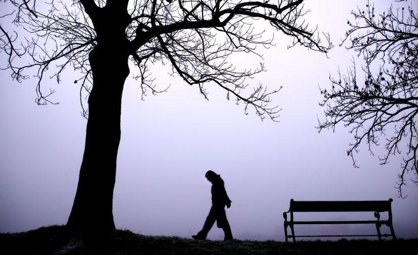 Eine Depression kann durch Lichtmangel entstehen