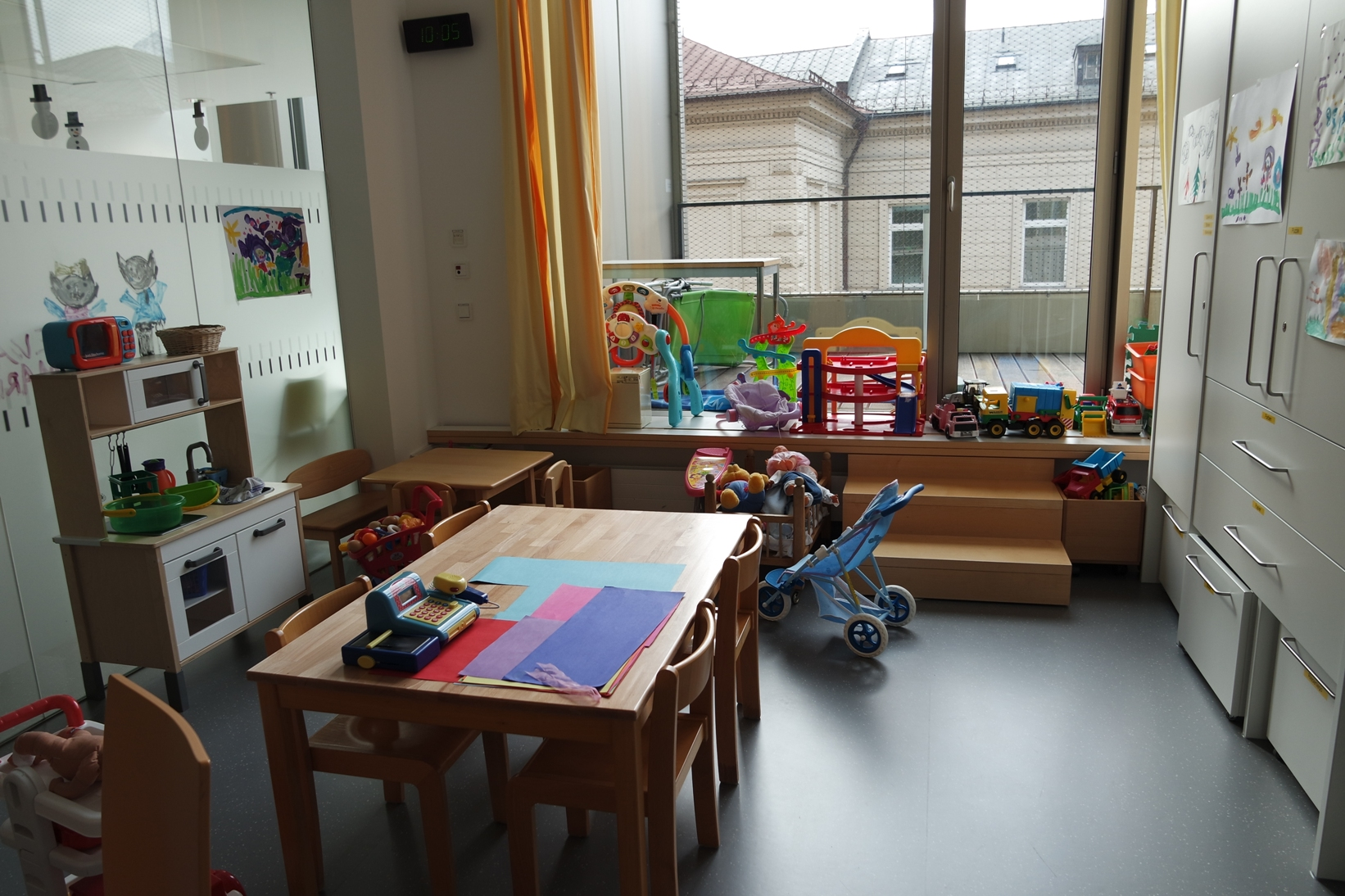 Spielraum, Kinderklinik, Innsbruck