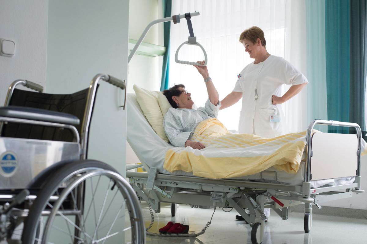 Die Nähe zum Patienten schafft Vertrauen und beschleunigt den Heilungsprozess.