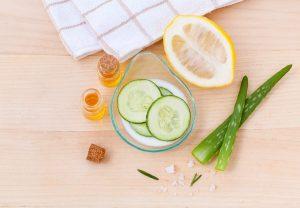 Naturkosmetik ist auch ein großes Thema bei der Hautpflege im Winter