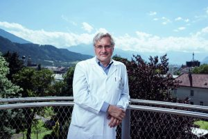 Prof. Dr. Josef Marksteiner, Leiter der Psychiatrie und Psychotherapie A am Landeskrankenhaus Hall. Foto: Gerhard Berger