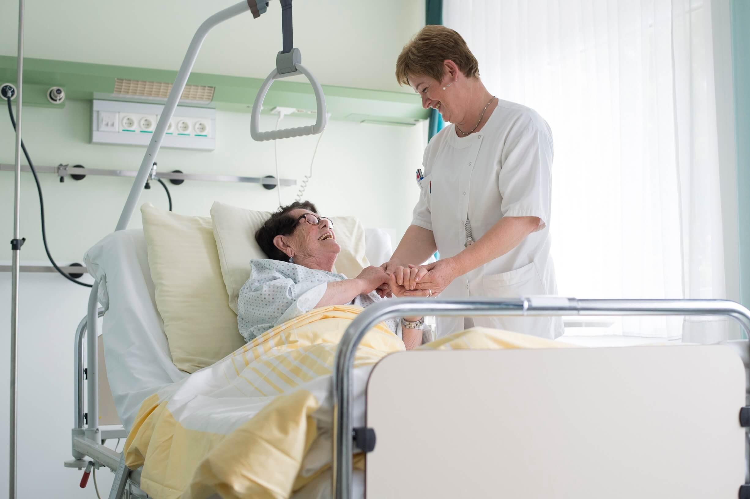 Darmpatienten genießen in den Tirol Kliniken eine optimale Betreuung.