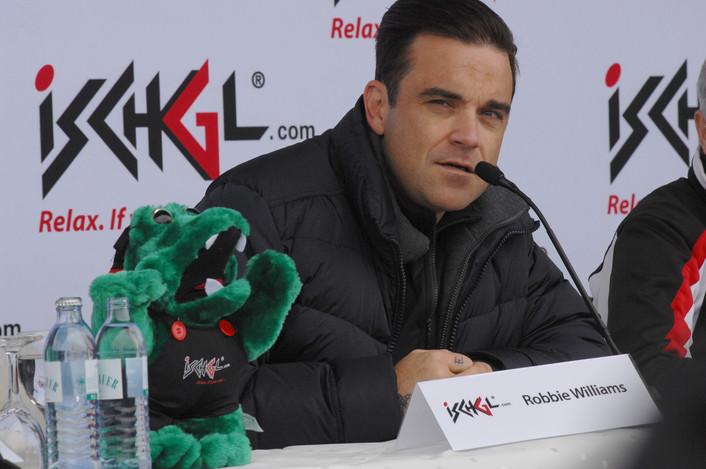 Auch Robbie war schon in Ischgl zu Gast (Bild: TVB-Ischgl)
