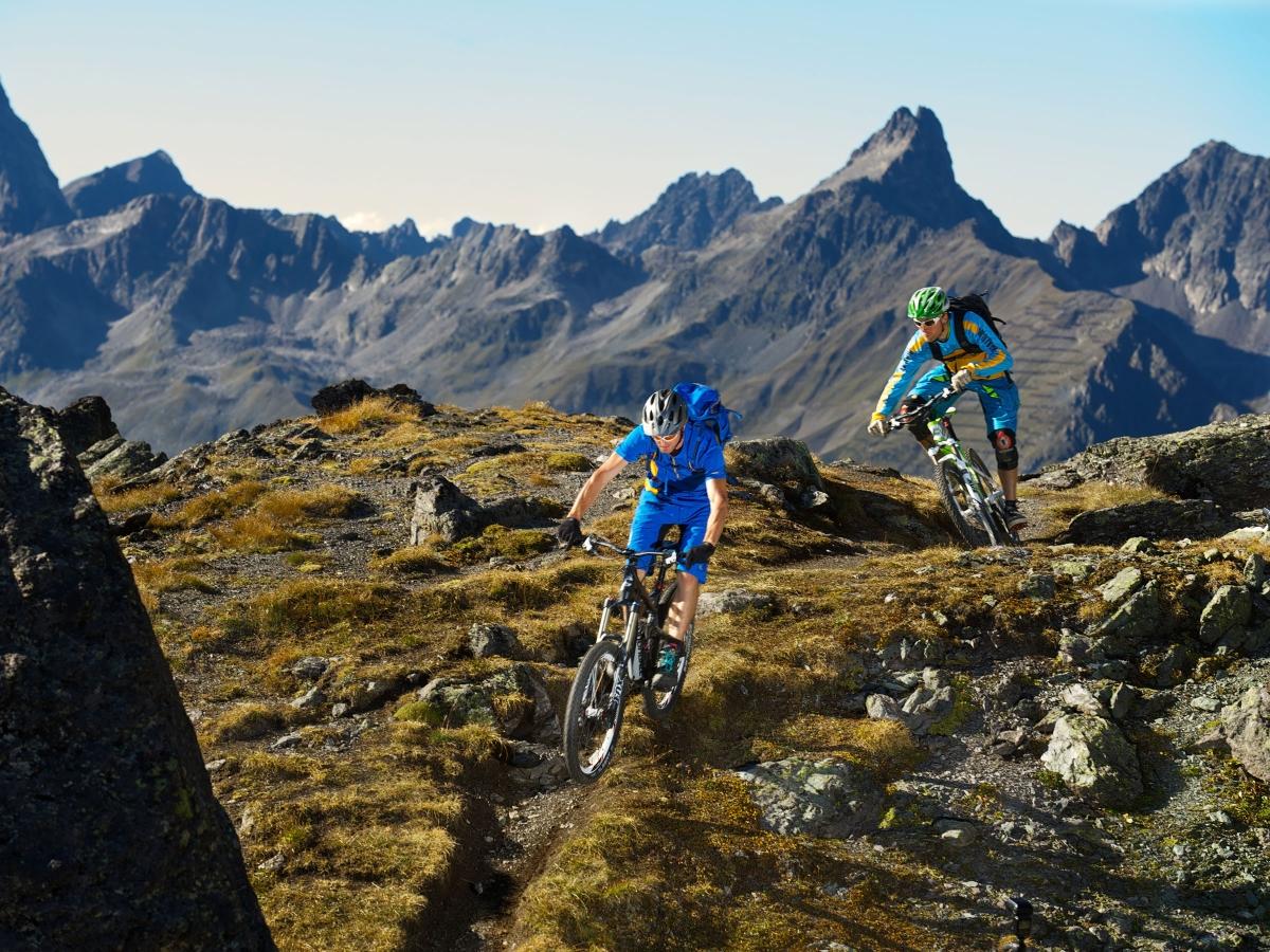 Da schlägt das Herz des Mountainbikers höher