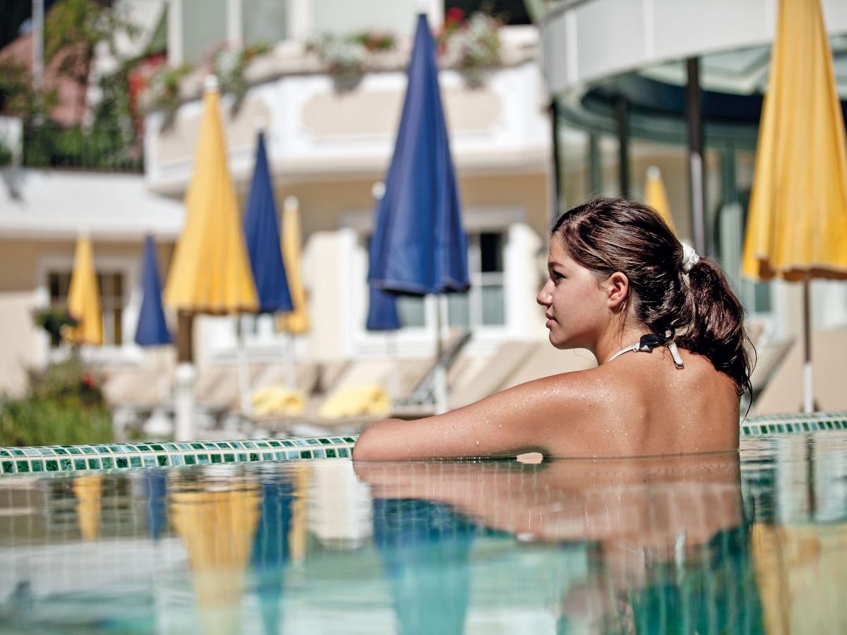 Und danach entspannen im Wellnessbereich des Hotel Trofana Royal