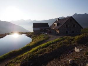 Wellness für's Auge – die Hütten in Ischgl. (Bild: TVB Ischgl)