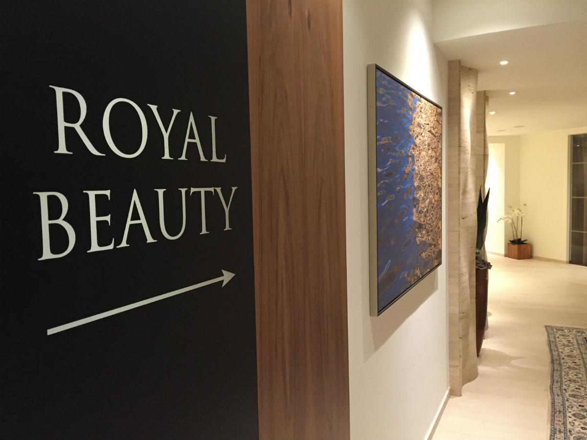 Im Beauty-Bereich kann man sich gut verwöhnen lassen
