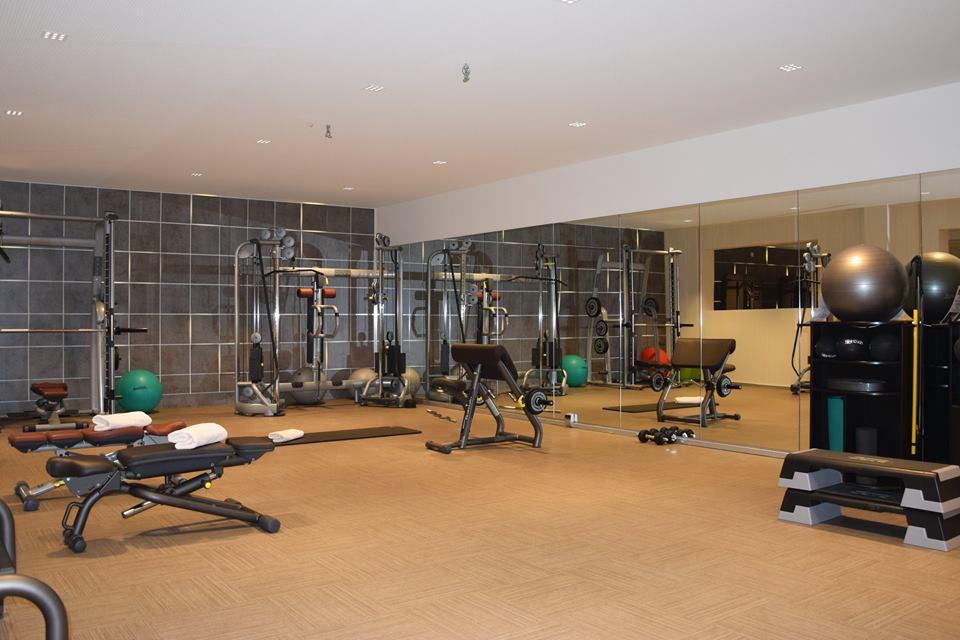 20 Jahre Trofana: Der Fitnessraum heute: Royaler Luxus