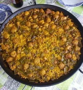 Spanische Paella: geschmackhaft und exotisch! (Bild: Beatriz Salom)