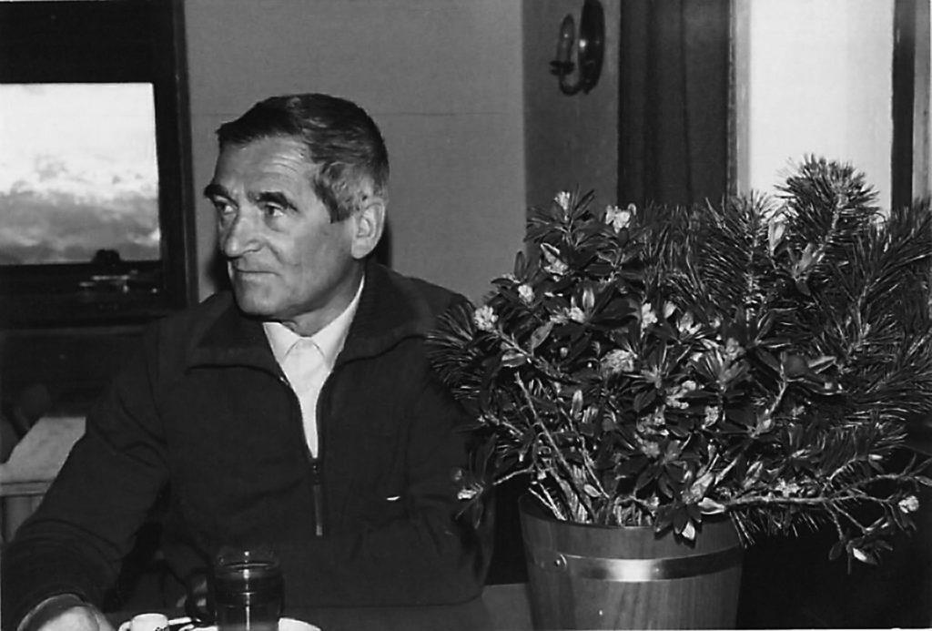 Pioniere in Hintertux: Franz Dengg