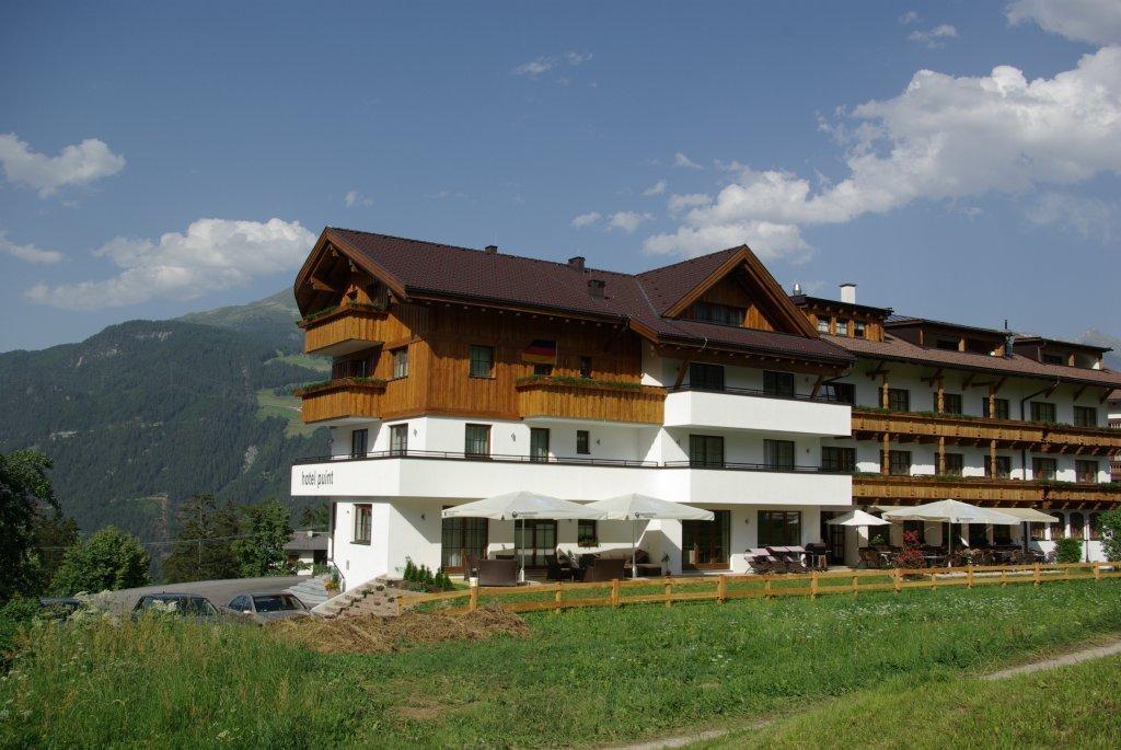 Bietet sich an, wenn ihr länger in der Region Serfaus-Fiss-Ladis unterwegs sein solltest: Das Hotel Puint